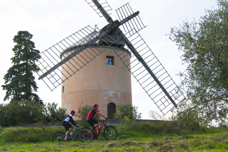 The Windmill with wine tasting